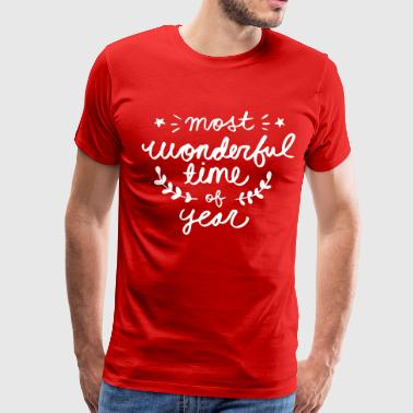 most wonderful time of year - Men's Premium T-Shirt