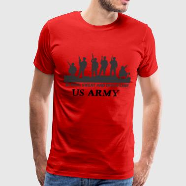 US ARMY - Blood Sweat and Discipline - Men's Premium T-Shirt