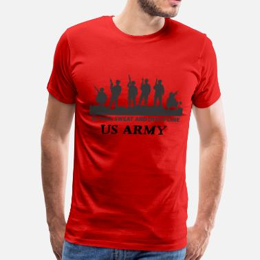 Army US ARMY - Blood Sweat and Discipline - Men's Premium T-Shirt