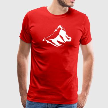 Switzerland Swiss Matterhorn - Switzerland - Swiss - Men's Premium T-Shirt