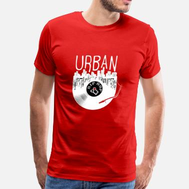 Boys Graffiti Urban Hip Hop Old School Rap - Men's Premium T-Shirt