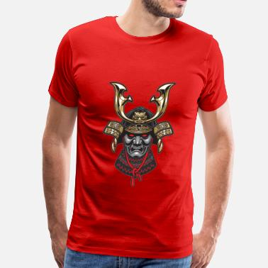 Samurai Mask samurai mask 2 - Men's Premium T-Shirt