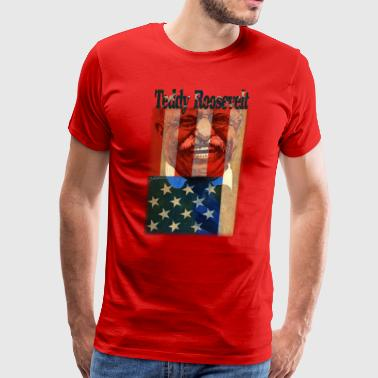 Teddy Roosevelt - Men's Premium T-Shirt