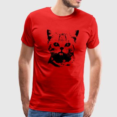 Evil Cat - Men's Premium T-Shirt