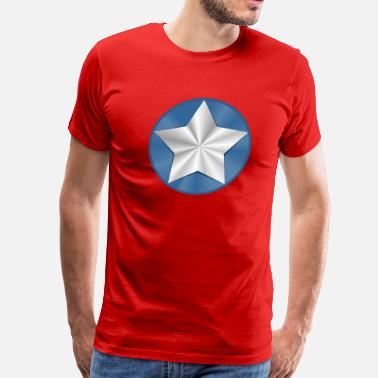 Captain America Shield captain_america - Men's Premium T-Shirt