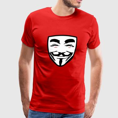 anonymous guy fawkes - Men's Premium T-Shirt