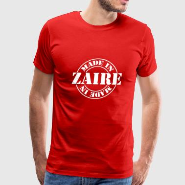 made_in_zaire_m1 - Men's Premium T-Shirt