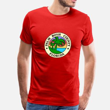 Miami Wade PALM BOSH COUNTY - Men's Premium T-Shirt