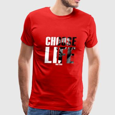 George Michael Choose Life 1963-2016 - Men's Premium T-Shirt