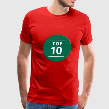 TOP NUMBER TEEN - Men's Premium T-Shirt