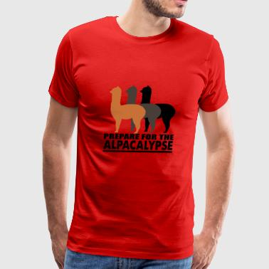 alpaca - Men's Premium T-Shirt