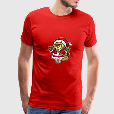 Christmas, Christmas Eve, Christmas time - Men's Premium T-Shirt