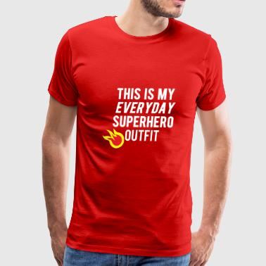Everyday Superhero Outfit - Men's Premium T-Shirt