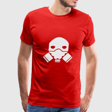 Gas Mask Funny Gas Mask - Men's Premium T-Shirt