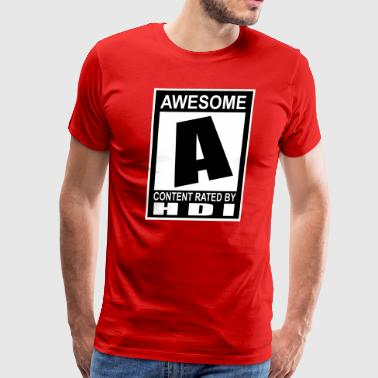 Rated A 3X - Men's Premium T-Shirt