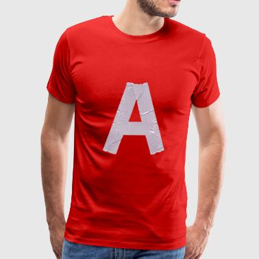 duct font A - Men's Premium T-Shirt