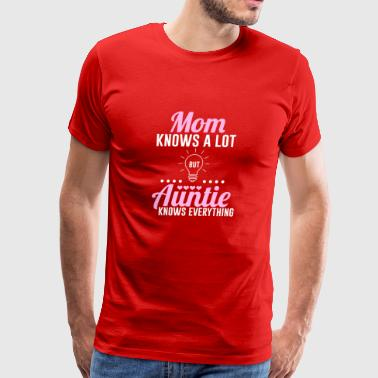 Meaning Shirt For Aunt From Niece/Nephew - Men's Premium T-Shirt