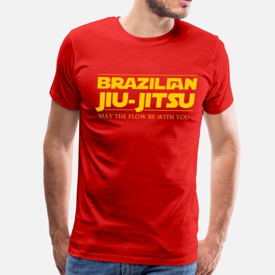 a2caadc7 BJJ Star Wars Brazilian Jiu-Jitsu T-shirt Men's Premium T-Shirt ...