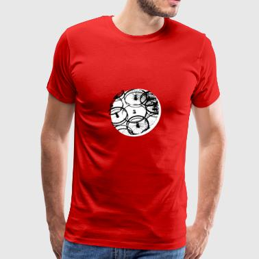 bike bicycle kreis circle grafic - Men's Premium T-Shirt