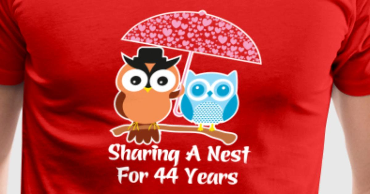 44 Years Wedding Anniversary Gifts Presents By Ilovemytshirt