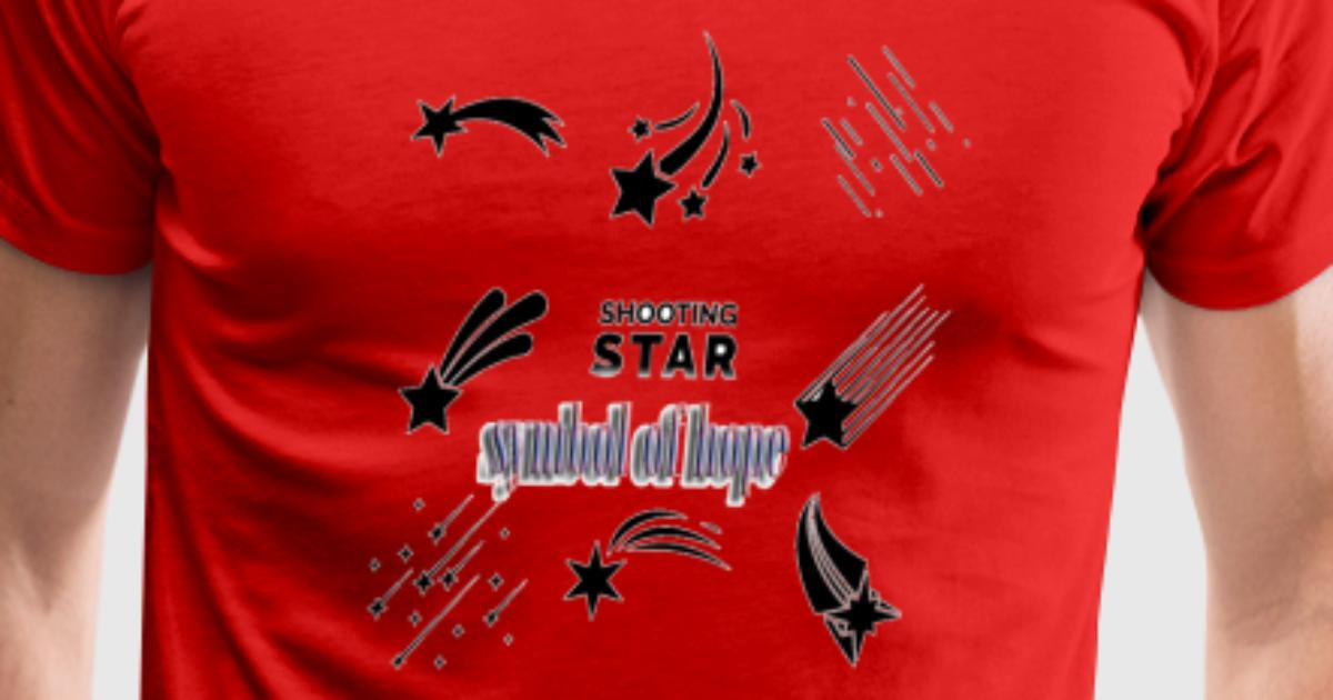 Shirt Shooting Star Symbol Of Hope By Wicala Spreadshirt