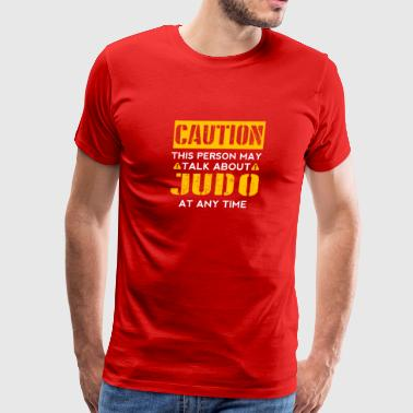 Cook CAUTION - Judo Fan - Men's Premium T-Shirt