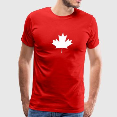 Canadian Leaf - Men's Premium T-Shirt
