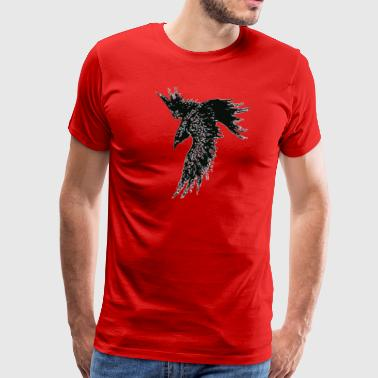 FOR I AM THE RAVEN THE CHILD OF ODIN - Men's Premium T-Shirt