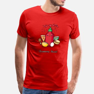 Food Awesome Sauce - Men's Premium T-Shirt
