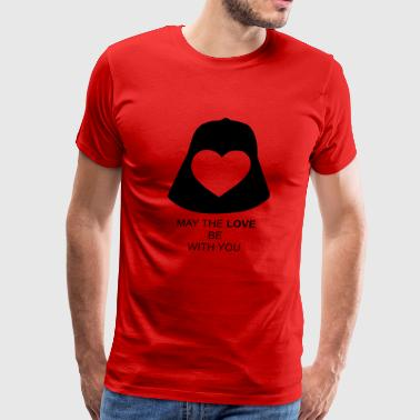 I Love May the love be with you - Men's Premium T-Shirt