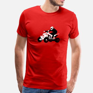 Biker Quads quad - Men's Premium T-Shirt