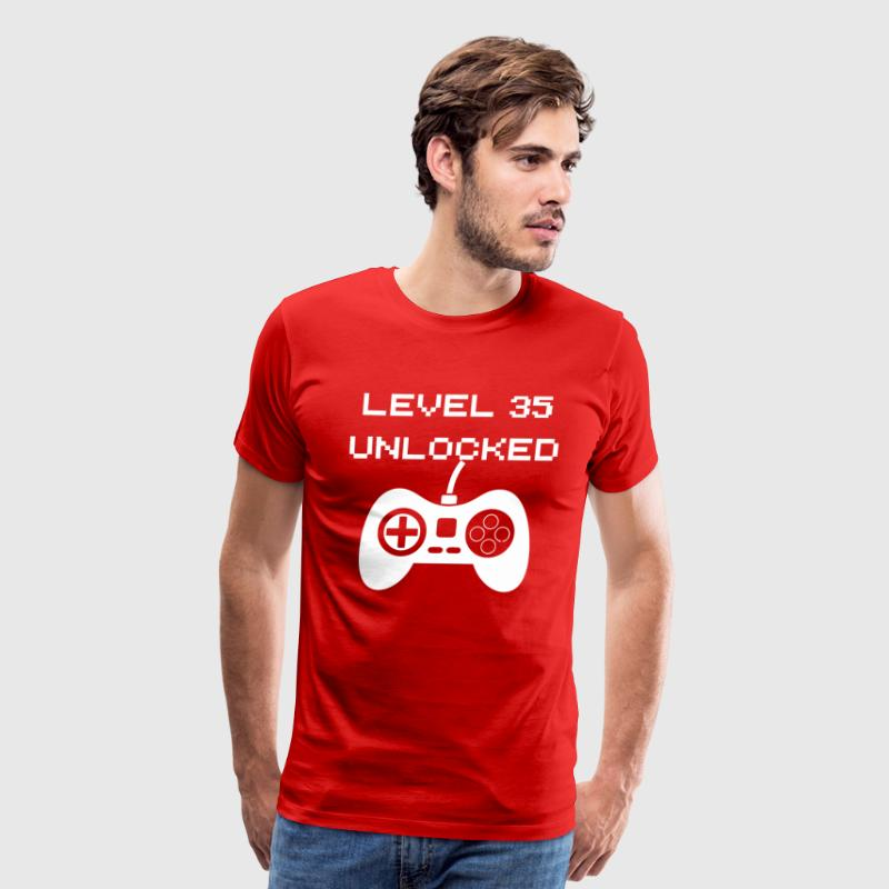 Level 35 Unlocked - Men's Premium T-Shirt