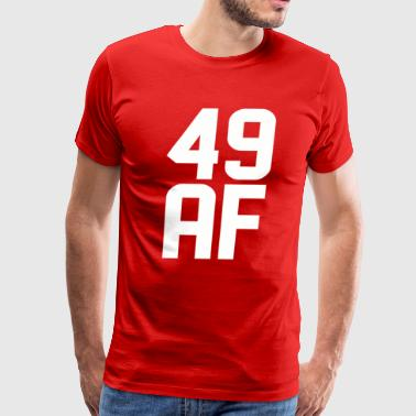 49 AF Years Old - Men's Premium T-Shirt