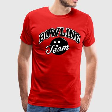 Bowling Team - Men's Premium T-Shirt