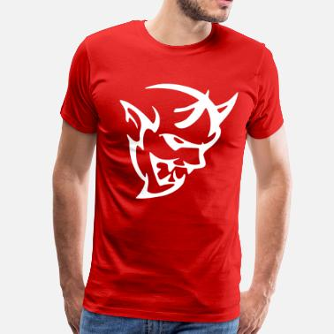 Dodge Demon DODGE DEMON HEAD - Men's Premium T-Shirt