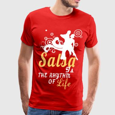 Salsa Is The Rhythm Of Life - Men's Premium T-Shirt