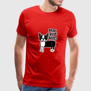 Boston Accent Terrier - Men's Premium T-Shirt