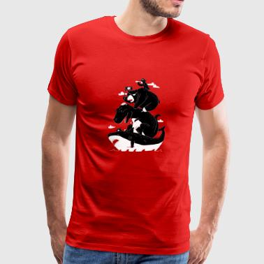 crossbones - Men's Premium T-Shirt