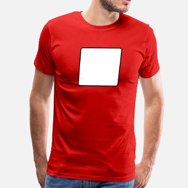 Square Outline square outline - Men's Premium T-Shirt