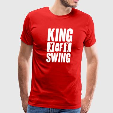 Golf: King of swing - Men's Premium T-Shirt