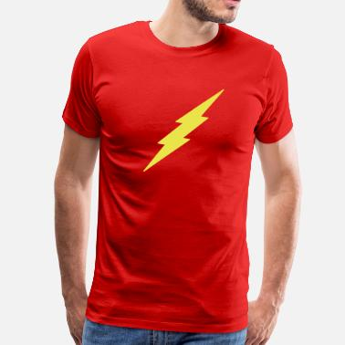 Lightning Strikes Lightning - Men's Premium T-Shirt