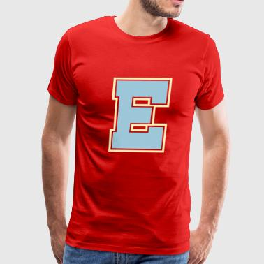 Big E E - Men's Premium T-Shirt