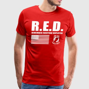 Wear Red Friday Red Friday Wear Red On Friday - Men's Premium T-Shirt