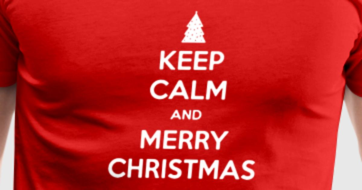 Keep Calm Merry Christmas Funny Logo by hadisutomo1990 | Spreadshirt