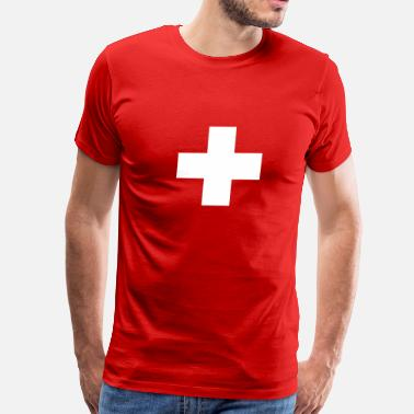 Helvetica Kids Swiss - Men's Premium T-Shirt