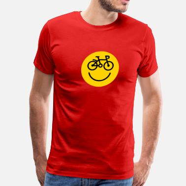 Bicycle Smiley Bicycle Smiley - Men's Premium T-Shirt