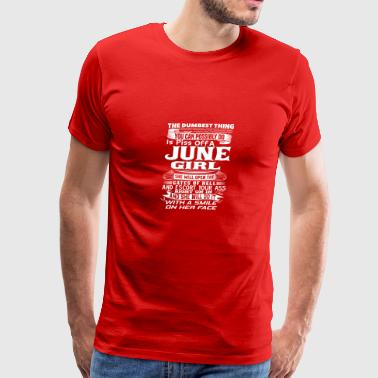JUNE Born Girl Birthmonth Shirt for JUNE - Men's Premium T-Shirt