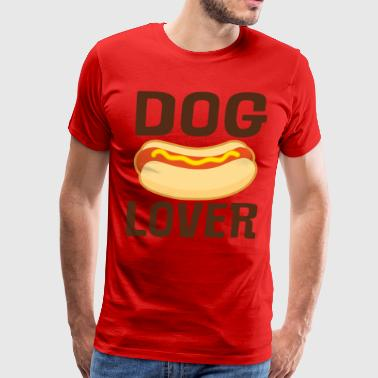Dog Lover Hot Dog BBQ - Men's Premium T-Shirt
