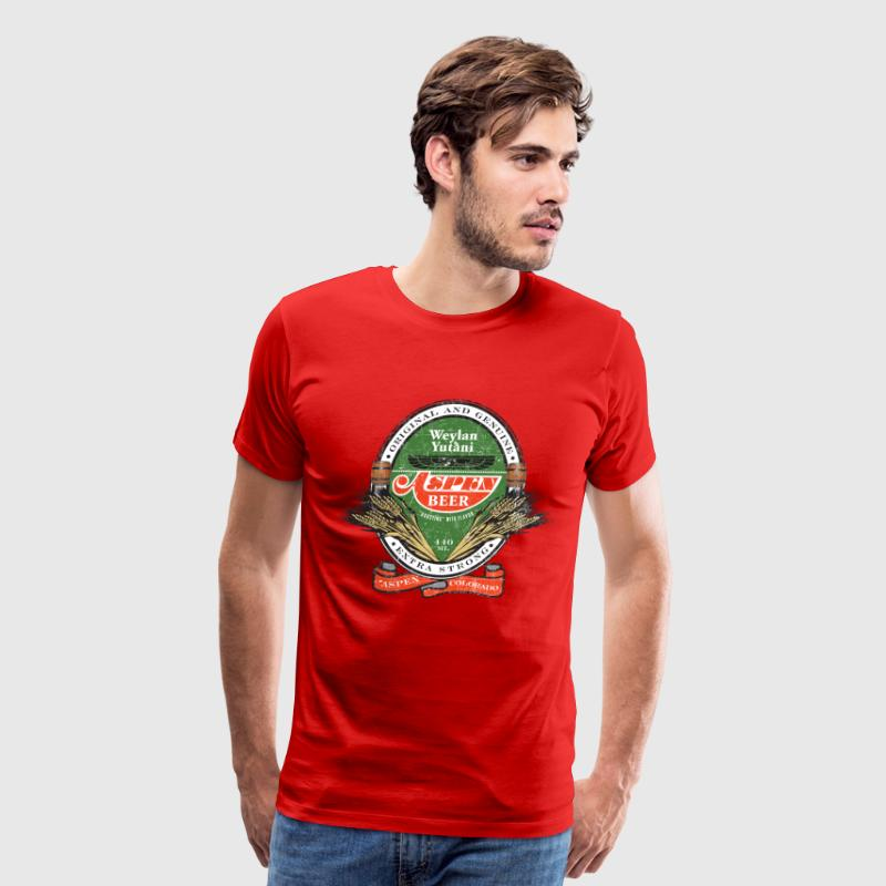 Aspen Beer - Men's Premium T-Shirt