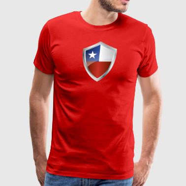 Chile Supporter Emblem Chile - Men's Premium T-Shirt